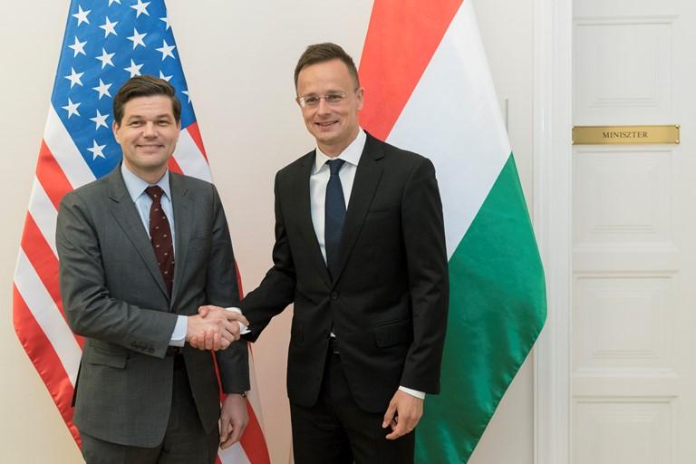 Угорщина високо цінує американську допомогу в конфлікті з Україною