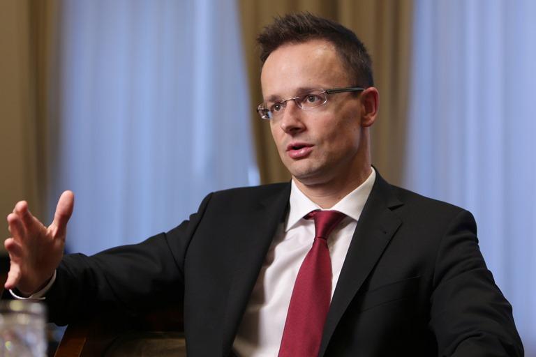 """Петер Сійярто: """"Я не хочу повторення війни між Угорщиною та Україною"""""""