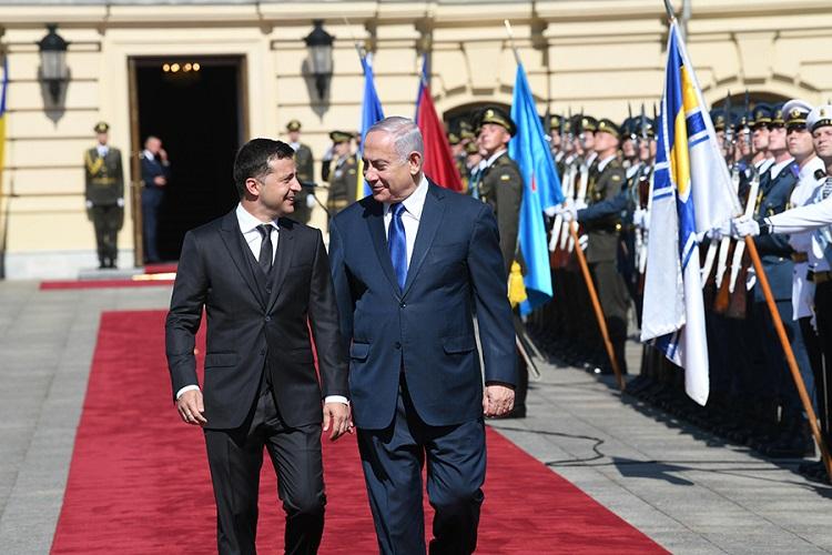 Зеленський зустрівся з прем'єром Ізраїлю Нетаньяху