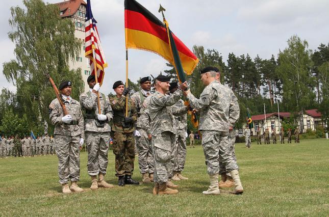 США зменшують свій військовий контингент у Німеччині