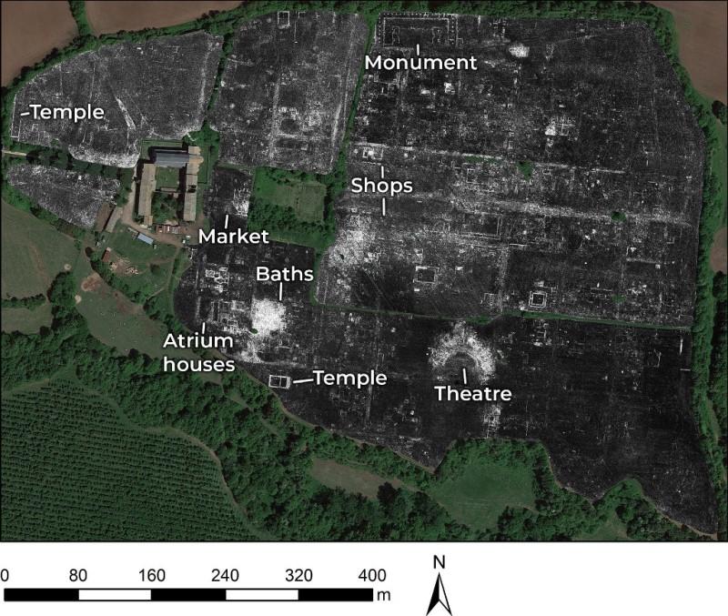 Римське поселення під землею відкрили за допомогою радара