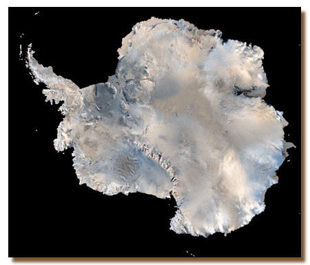 Мапа льодяного континенту