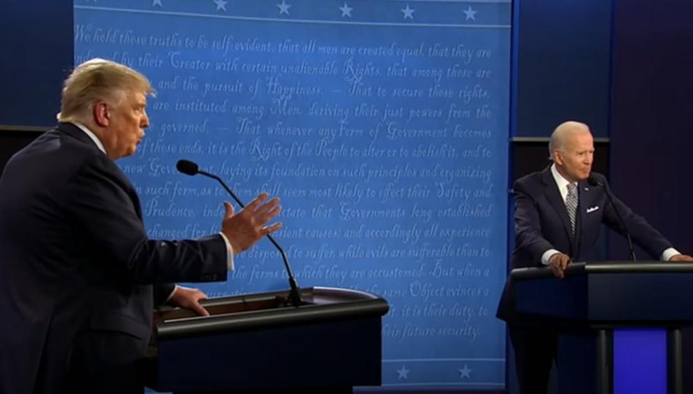 Хто переміг у передвиборчих дебатах у США?