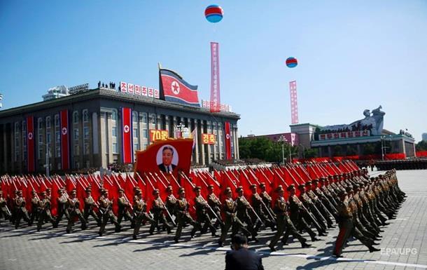 КНДР відсвяткувала річницю незалежності військовим парадом